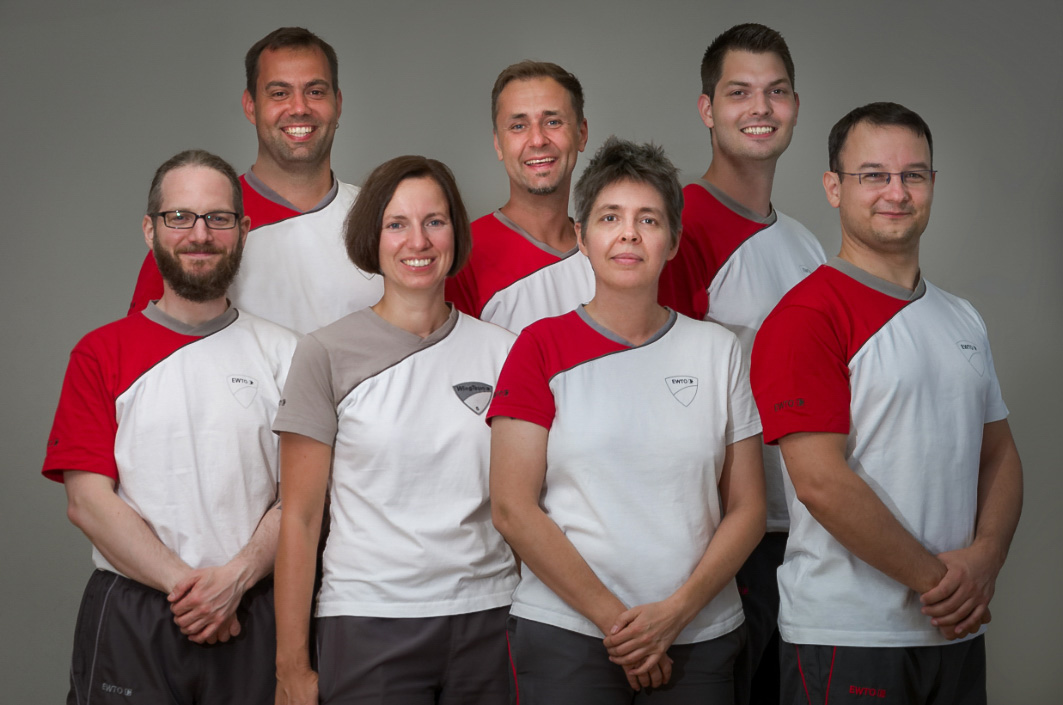 Das Team der WingTsun-Schule in Ettlingen